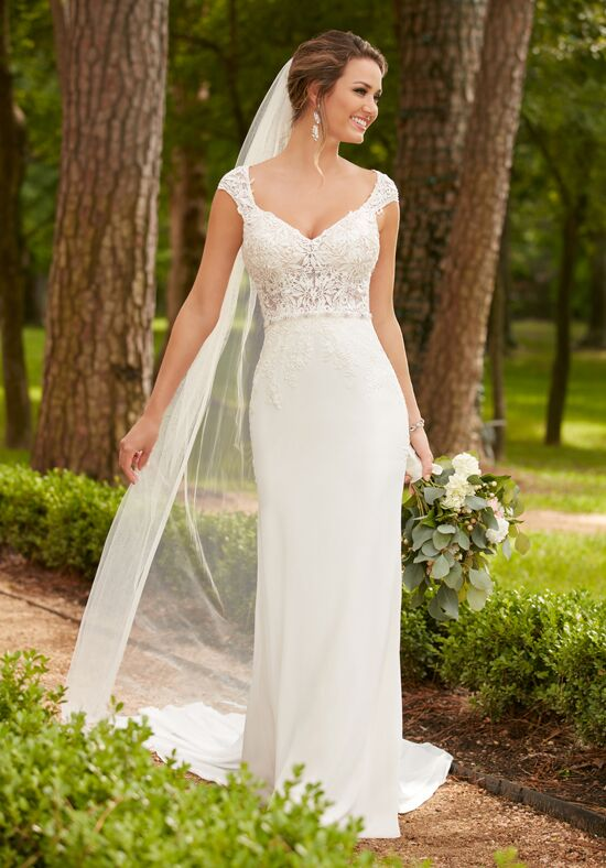 Stella York 6366 Sheath Wedding Dress