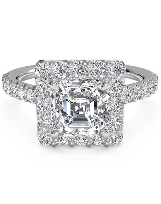 Ritani Elegant Asscher Cut Engagement Ring