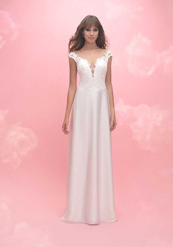 Allure Romance 3054 Sheath Wedding Dress