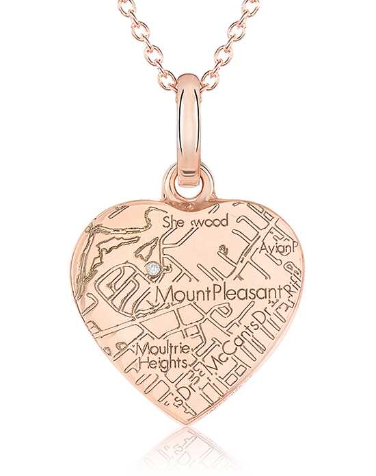 A.JAFFE Maps MAPP014 Wedding Necklace photo