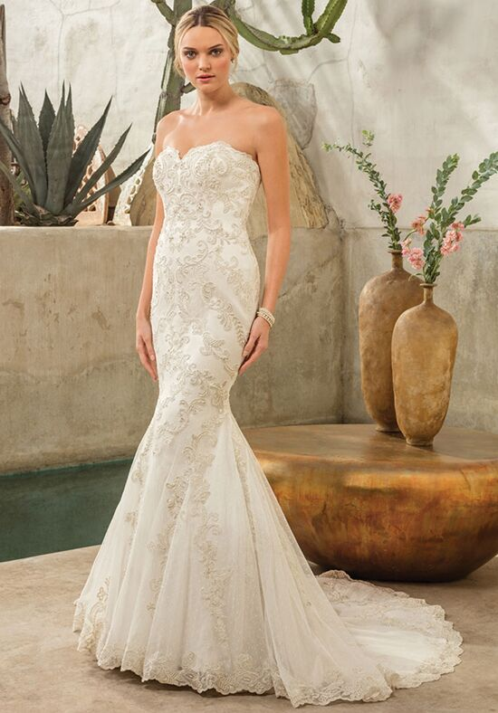 Casablanca Bridal Style 2298 Dakota Mermaid Wedding Dress