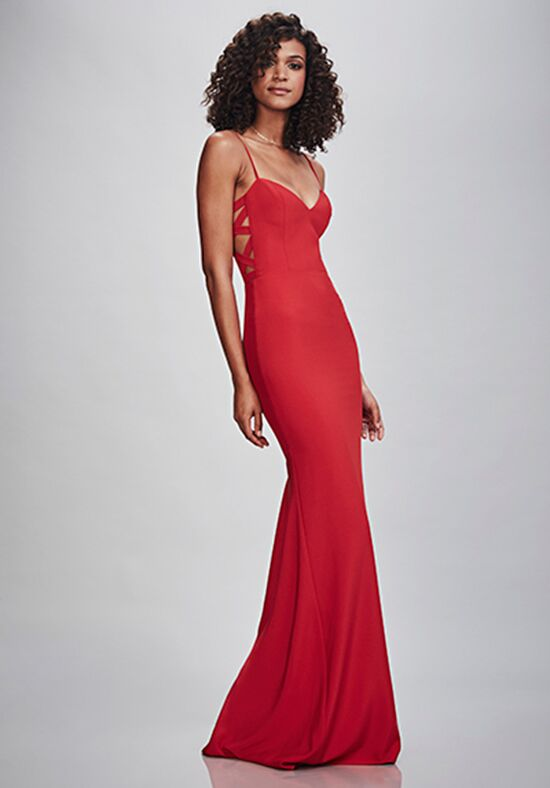 THEIA Bridesmaids Chiara Scoop Bridesmaid Dress
