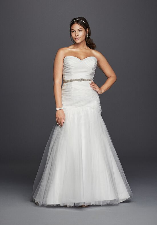 David's Bridal David's Bridal Collection Style 9WG3791 Mermaid Wedding Dress