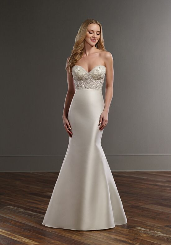 Martina Liana Cody+Selene Mermaid Wedding Dress