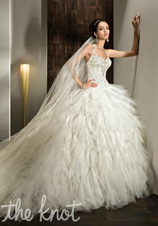 Demetrios 2842 Ball Gown Wedding Dress