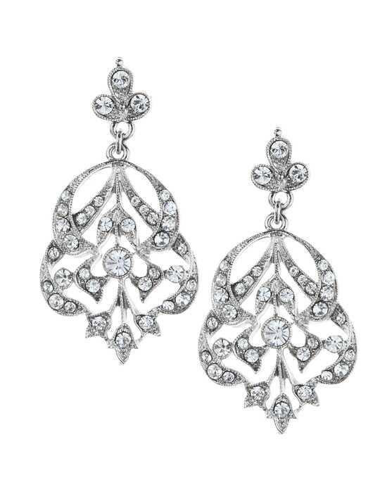 Drop Wedding Earrings