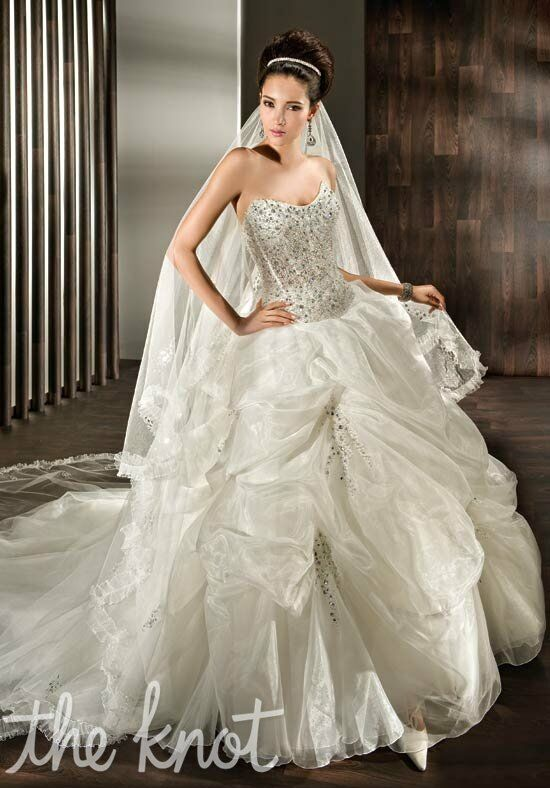 Demetrios 2851 Ball Gown Wedding Dress