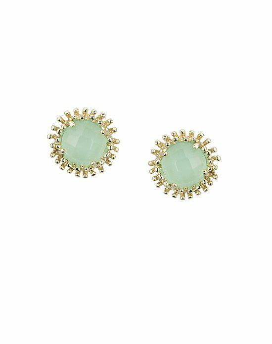 Kendra Scott Carly Stud Earrings in Chalcedony Wedding Earring photo