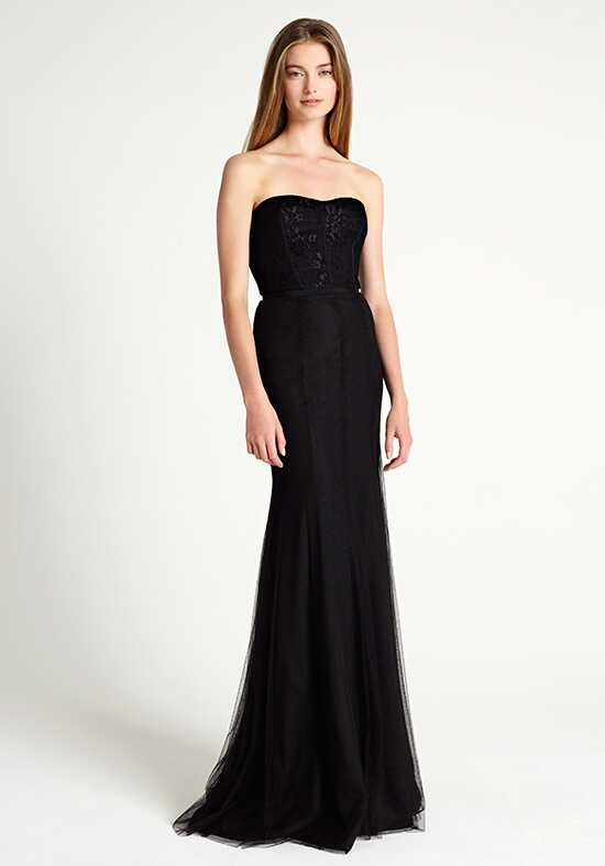 Monique Lhuillier Bridesmaids 450306 Strapless Bridesmaid Dress