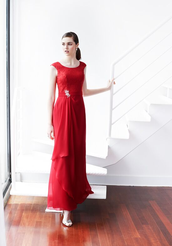 Colour by Kenneth Winston 5223L Bateau Bridesmaid Dress