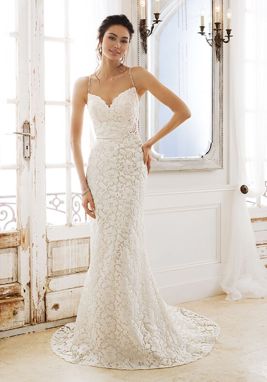 Sophia Tolli Y11890 Godiva Sheath Wedding Dress