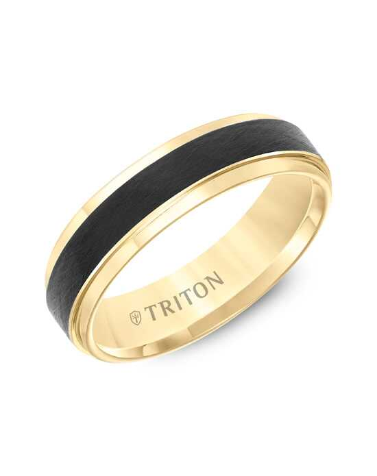 Triton 11-5981YBC6 Tungsten Wedding Ring