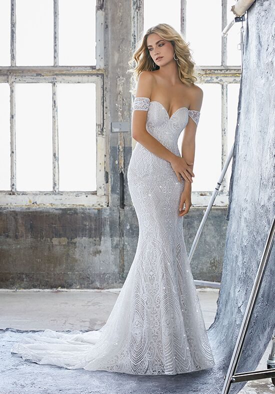 Morilee by Madeline Gardner Karissa/ 8222 Sheath Wedding Dress