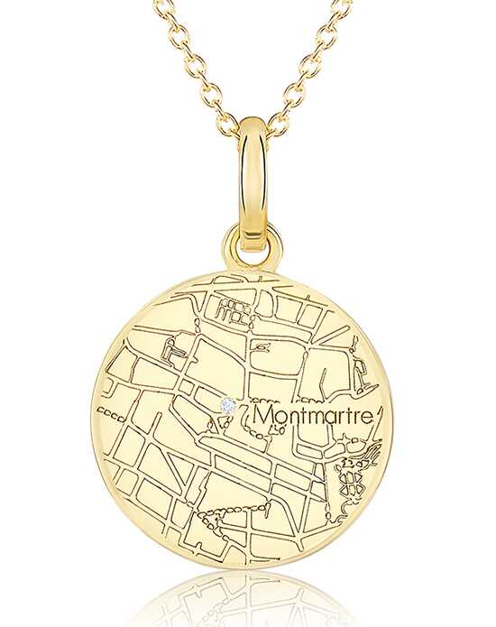 A.JAFFE Maps MAPP005 Wedding Necklace photo