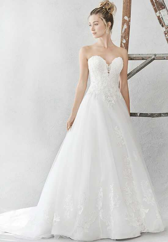 Kenneth Winston: Ella Rosa Collection BE383 Ball Gown Wedding Dress