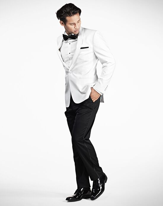 Generation Tux White Shawl Lapel Tux Black, White Tuxedo