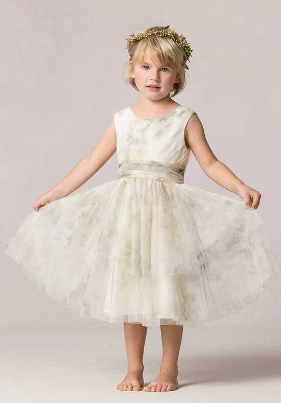 Jenny Yoo Collection (Maids) Etsy Print Flower Girl Dress