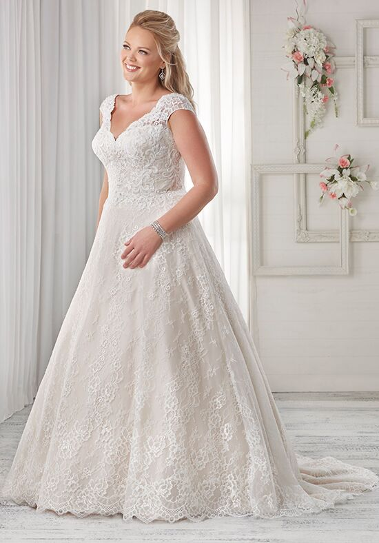 Unforgettable by Bonny Bridal 1601 A-Line Wedding Dress