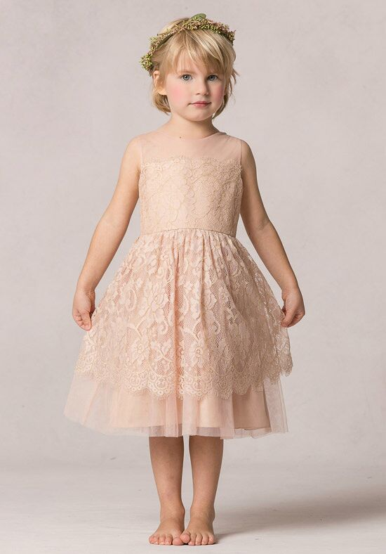 Jenny Yoo Collection (Maids) Ella Flower Girl Dress