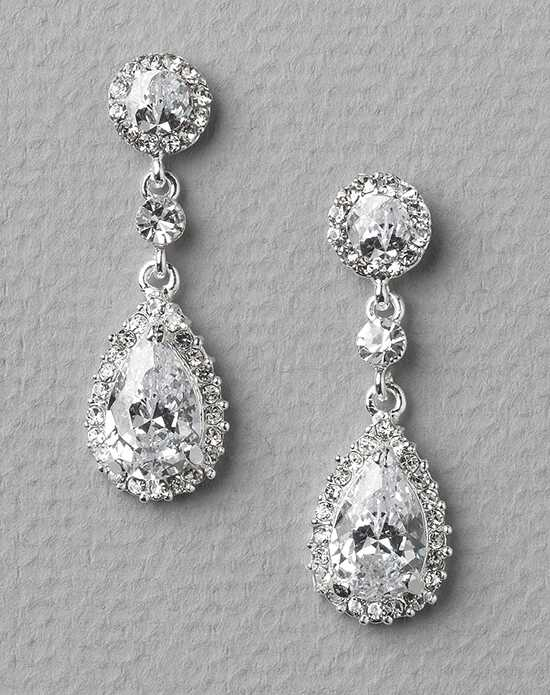 USABride Stephanie CZ Wedding Earrings JE-4057 Wedding Earrings photo