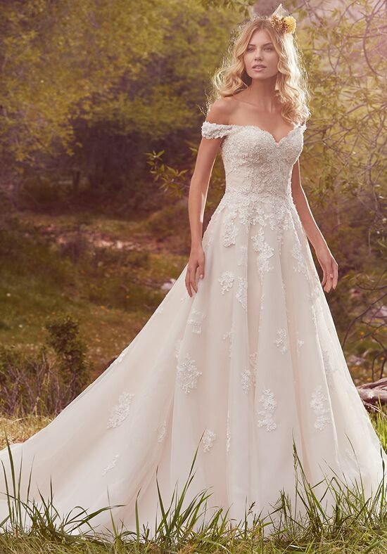 Maggie Sottero Saffron Ball Gown Wedding Dress