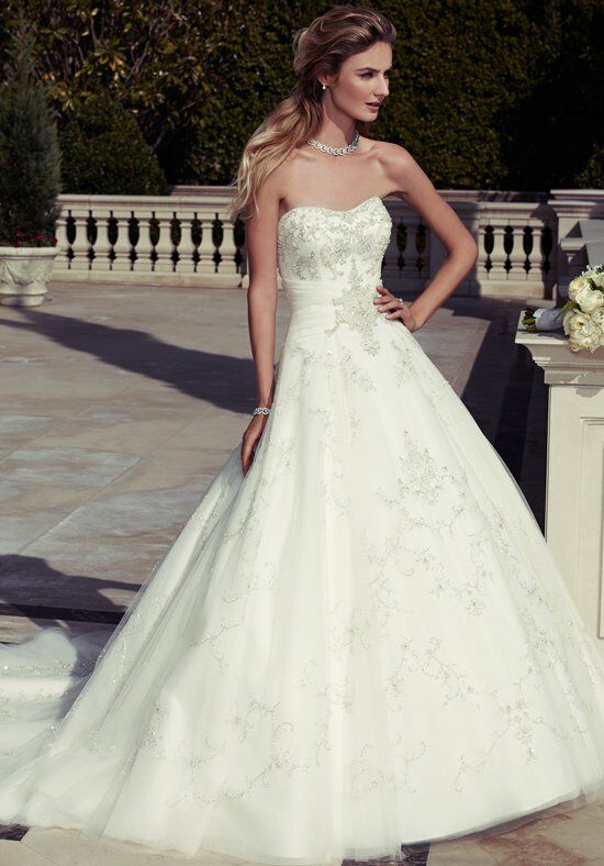 Casablanca Bridal 2098 Ball Gown Wedding Dress