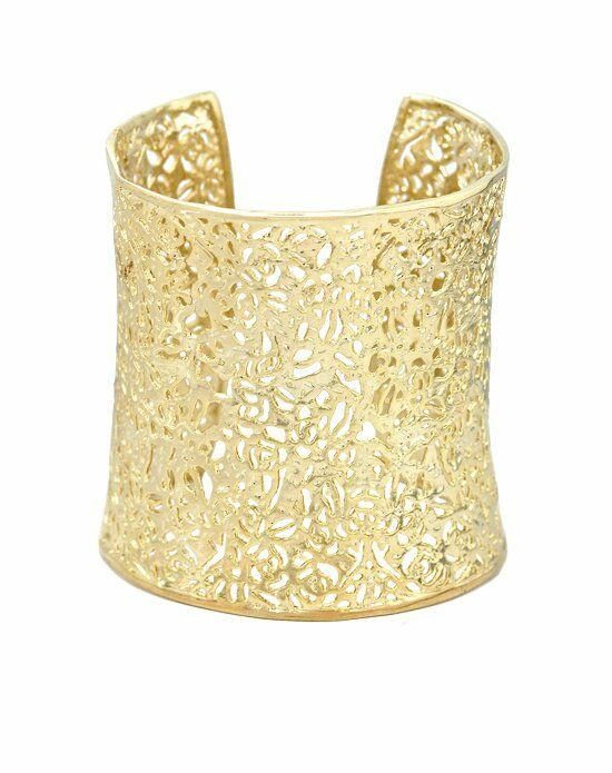Kendra Scott Ainsley Cuff Bracelet in Gold Wedding Bracelet photo
