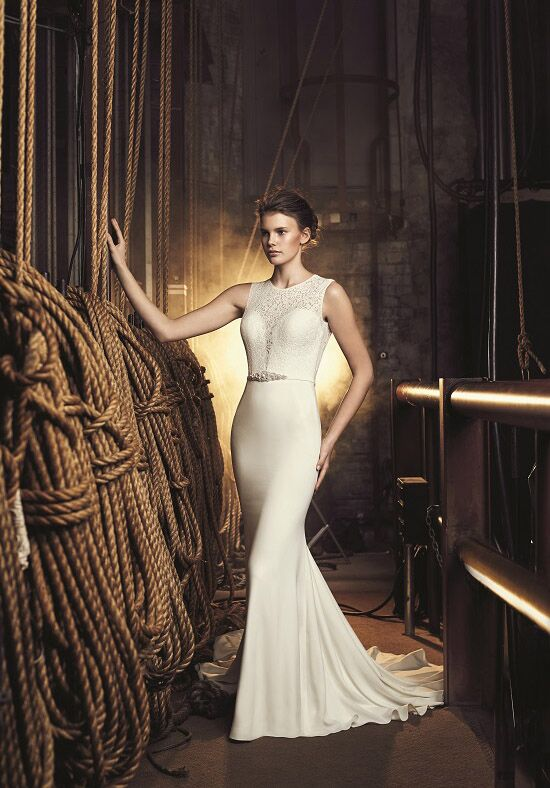 Mikaella 2087 Sheath Wedding Dress