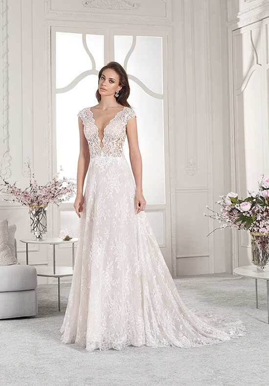 Demetrios 853 A-Line Wedding Dress