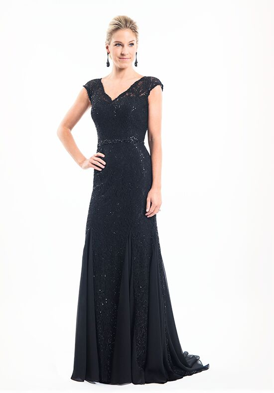Mothers by Mary's Bridal MB8010 Black Mother Of The Bride Dress