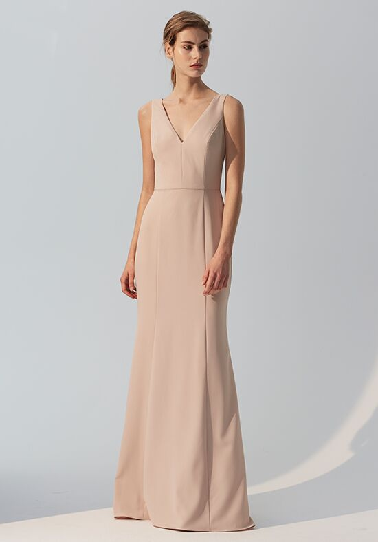 Amsale Bridesmaids Sydney V-Neck Bridesmaid Dress