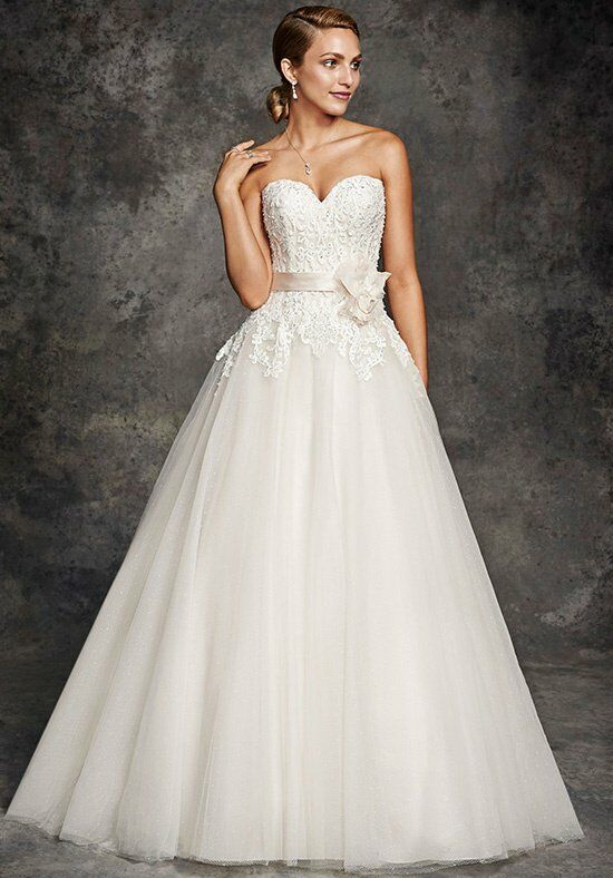Ella Rosa BE251 A-Line Wedding Dress