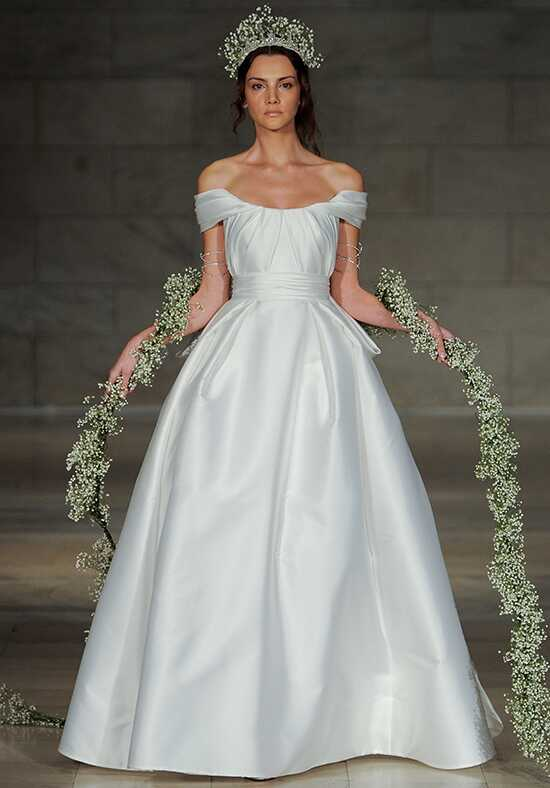 Reem Acra Affection Ball Gown Wedding Dress