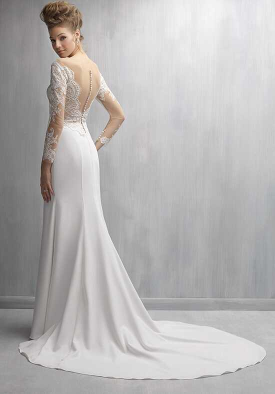 Madison james mj272 wedding dress the knot for Madison james wedding dress prices