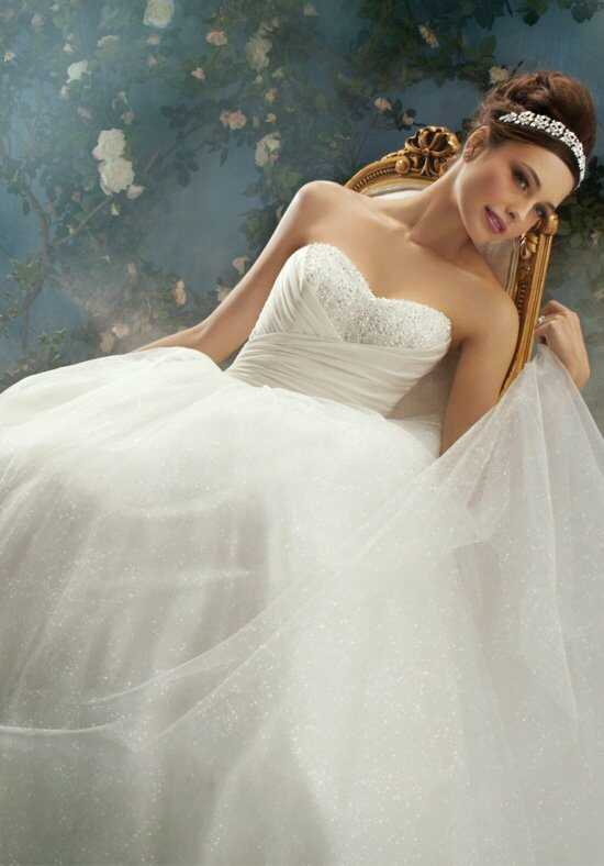 Alfred Angelo Disney Fairy Tale Weddings Bridal Collection 205 Ball Gown Wedding Dress