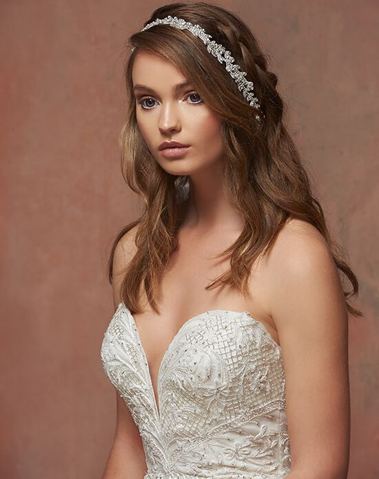Blossom Veils & Accessories BB2834 Silver Headband