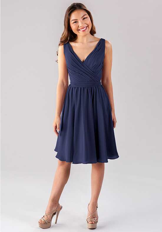 Kennedy Blue Faith V-Neck Bridesmaid Dress
