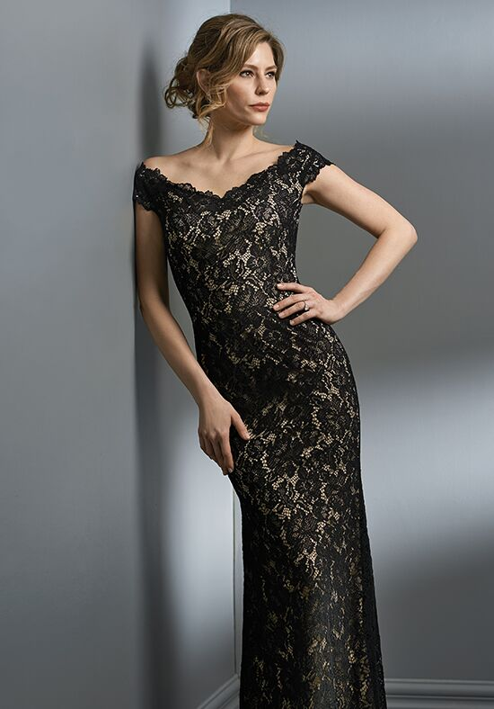 Jade Couture K198060 Black Mother Of The Bride Dress