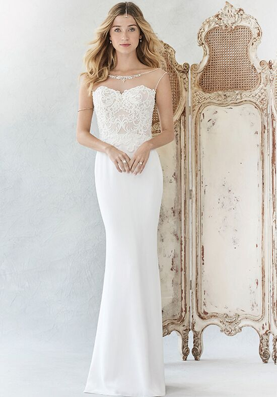Kenneth Winston: Ella Rosa Collection BE373 Mermaid Wedding Dress