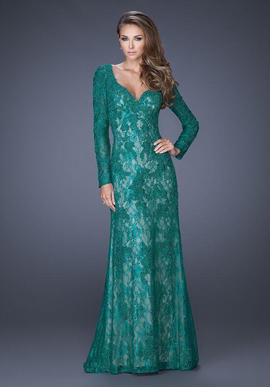 Dark Green Mother of the Groom Dress