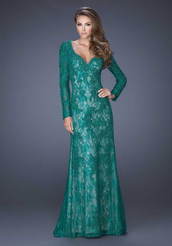 La Femme Evening 19893 Green Mother Of The Bride Dress