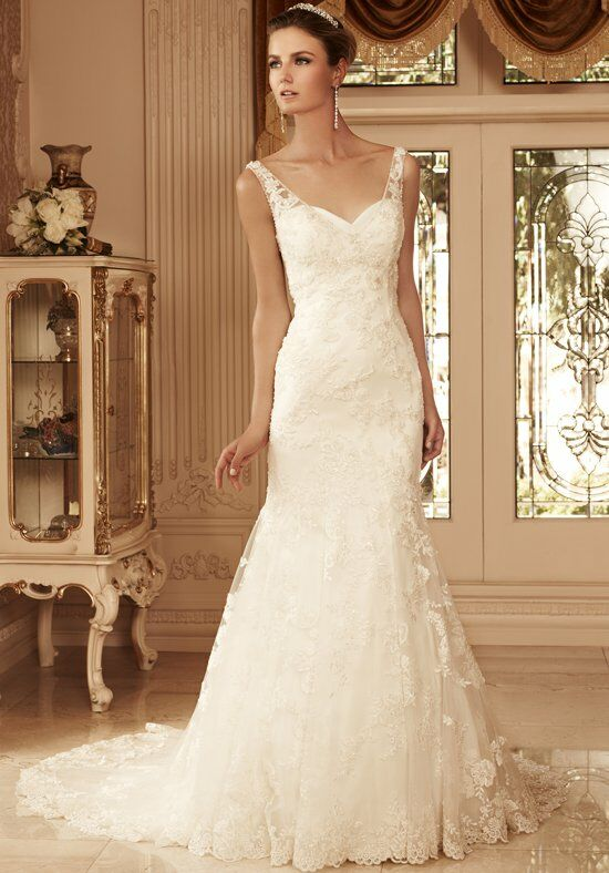 Casablanca Bridal 2099 Mermaid Wedding Dress