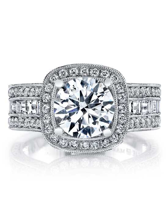 MARS Fine Jewelry Glamorous Round Cut Engagement Ring