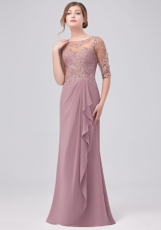 Val Stefani Celebrations MB7631 Pink Mother Of The Bride Dress