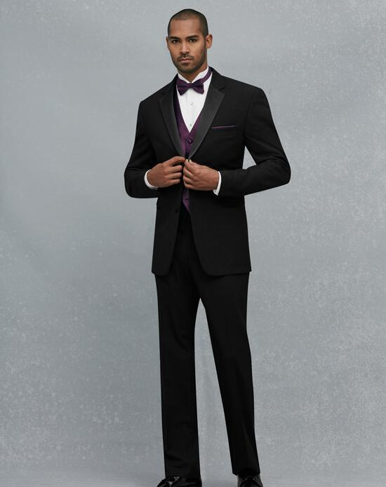 Jos. A. Bank 2 Button Notch Lapel Tuxedo Wedding Tuxedos + Suit photo