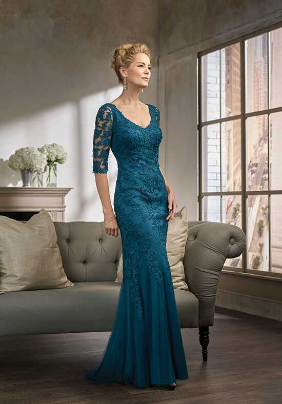 Jade Couture K198007 Blue Mother Of The Bride Dress