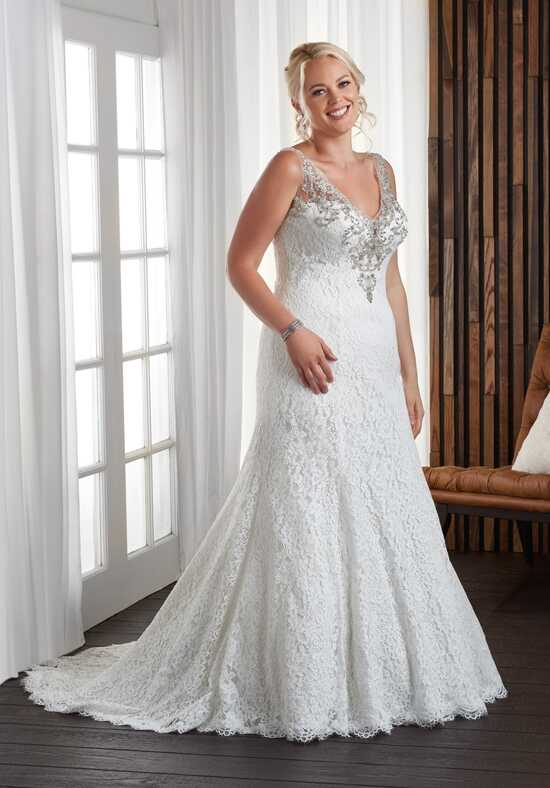 Unforgettable by Bonny Bridal 1707 Sheath Wedding Dress