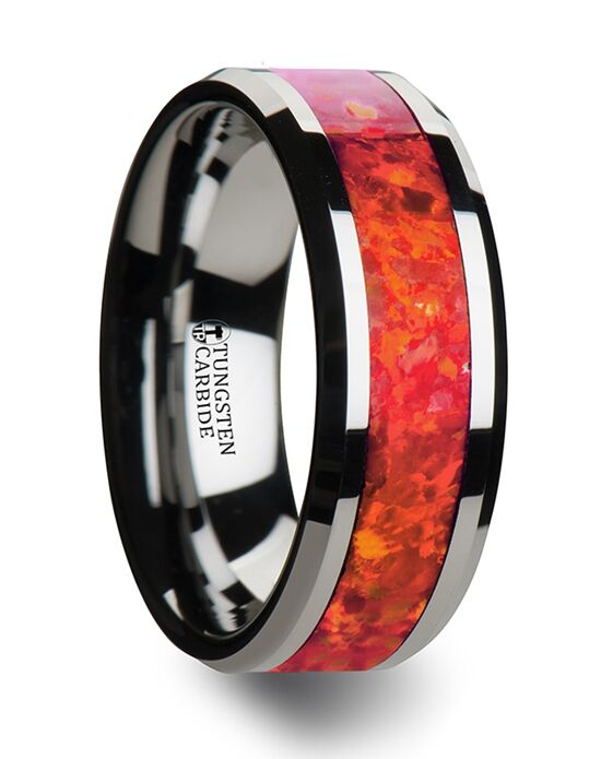 Mens Tungsten Wedding Bands W1966-TRO Tungsten Wedding Ring