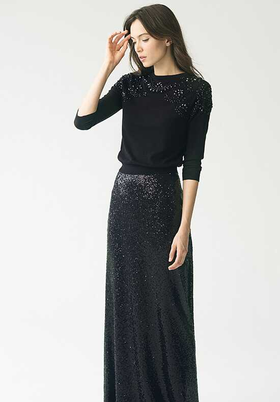 Jenny Yoo Collection (Maids) Lexi Skirt {Black} #S1731 Bateau Bridesmaid Dress