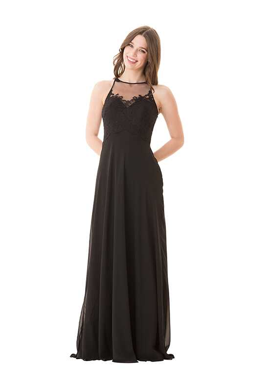Bari Jay Bridesmaids 1653 Halter Bridesmaid Dress